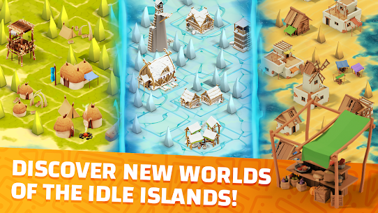 Idle Islands Empire: Building Tycoon Gold Clicker Mod Apk 1.0.7 5