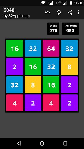 2048 4.2.18 screenshots 1