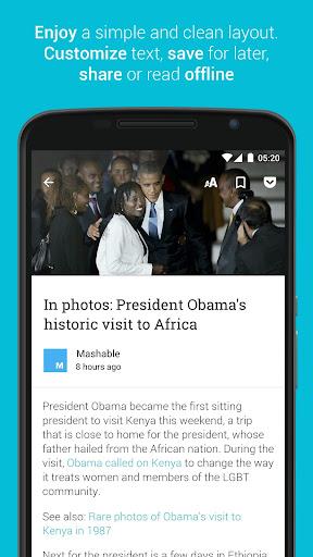 Palabre Feedly RSS Reader News 3.2.4 Screenshots 3