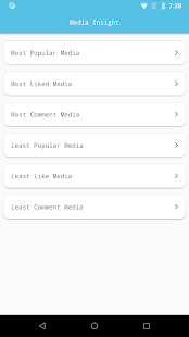 Followers Insight for Instagram, tracker, analyzer Screenshot