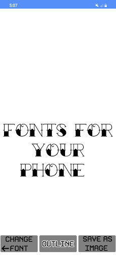 Text Fonts - outline fonts - write calligraphy  Screenshots 4