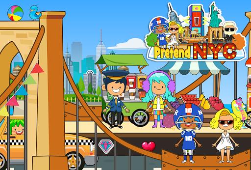 my pretend new york city - big gamele friends screenshot 1