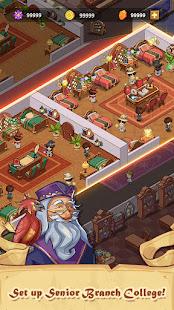 Idle Magic School - Wizard Simulator Game