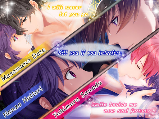 Code Triche Sengoku love | Otome Dating Sim Otome game (Astuce) APK MOD screenshots 2