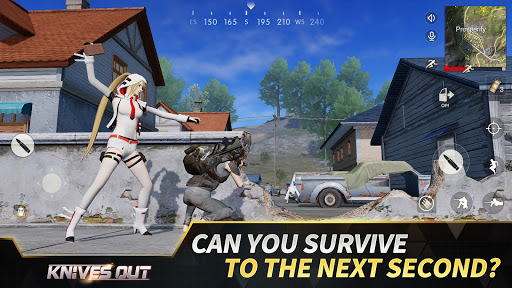 Knives Out-No rules, just fight!  APK MOD (Astuce) screenshots 3