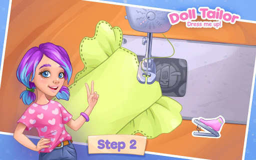Fashion Dress up games for girls. Sewing clothes  screenshots 15