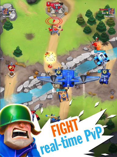 Warhands: Epic clash in chaos leagueu30fbPvP Real time  screenshots 5