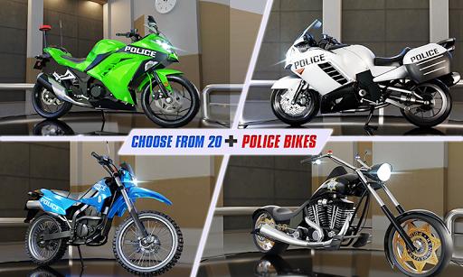 Police Moto Bike Highway Rider Traffic Racing Game  Screenshots 4