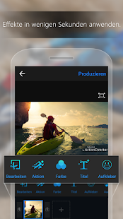 ActionDirector Video Editor Screenshot