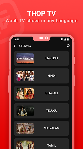 Thoptv Pro - Live Cricket , All Channels watch Tip screenshot 1