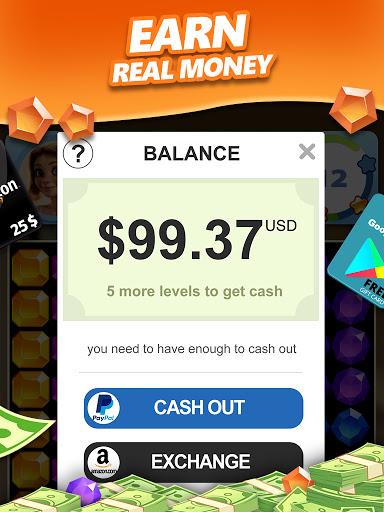 Jewel Blast & Diamond Crush Puzzle Game to BIG WIN android2mod screenshots 11