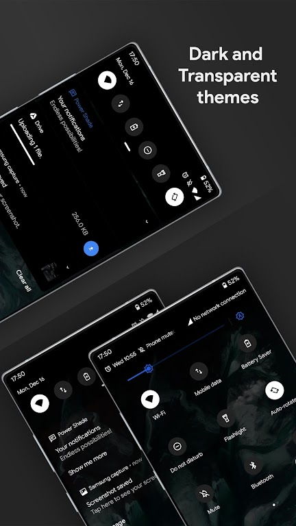 Power Shade: Notification Panel & Quick Settings poster 2