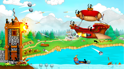 The Catapult: Castle Clash with Stickman Pirates 1.3.5 screenshots 2