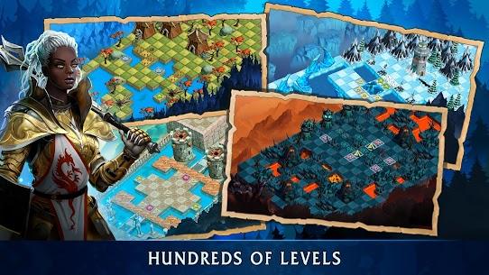 Heroes of War Magic-Turn Based RPG & Strategy game 3