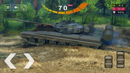 Army Tank Simulator 2020 - Offroad Tank Game 2020  screenshots 11