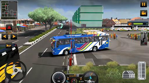 Modern Heavy Bus Coach: Public Transport Free Game 0.1 screenshots 9