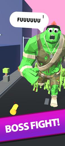 Save the Town - Free Car Shooting & Battle Game  screenshots 4