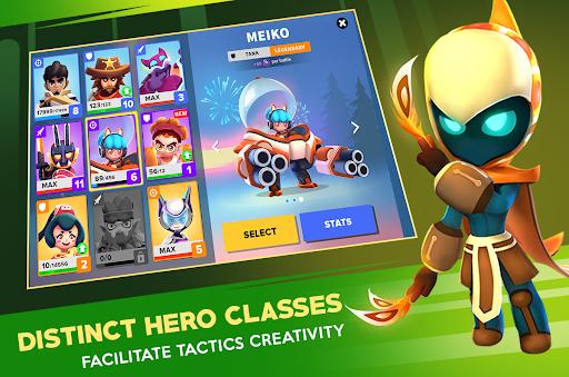 Heroes Strike Offline - MOBA & Battle Royale APK MOD (Astuce) screenshots 3