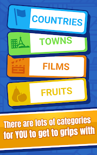 Categories - Word Game for two players screenshots 13