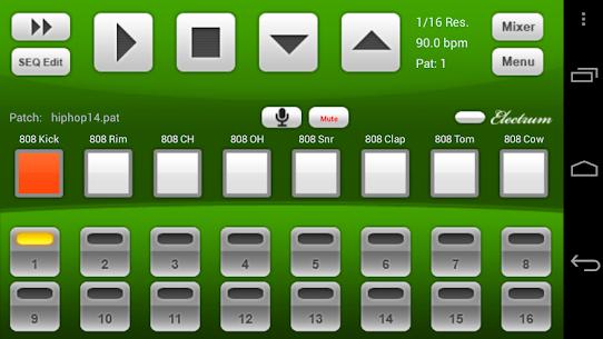 Electrum Drum Machine/Sampler 1
