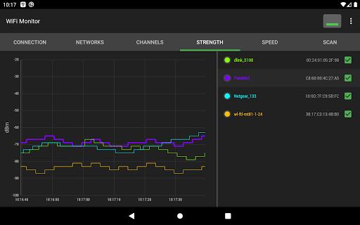 WiFi Monitor: analyzer of WiFi networks modavailable screenshots 18