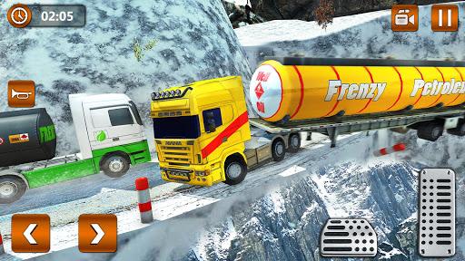 Offroad Oil Tanker Truck Transport Driver  Screenshots 9
