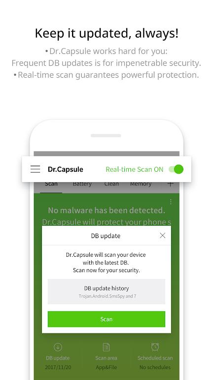 Dr.Capsule - Antivirus, Cleaner, Booster  poster 1