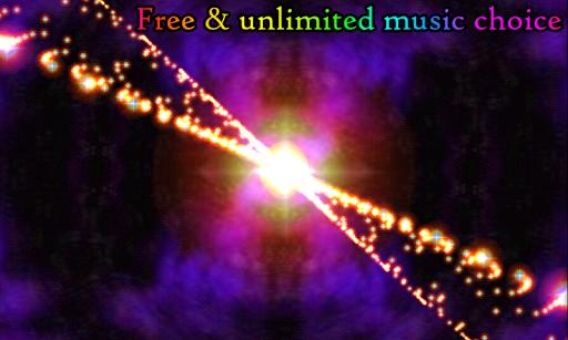 3D Stars Journey - Universe Music Visualizer Apkfinish screenshots 9