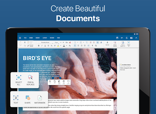 Foto do OfficeSuite - Word docs, Excel, PowerPoint & PDF