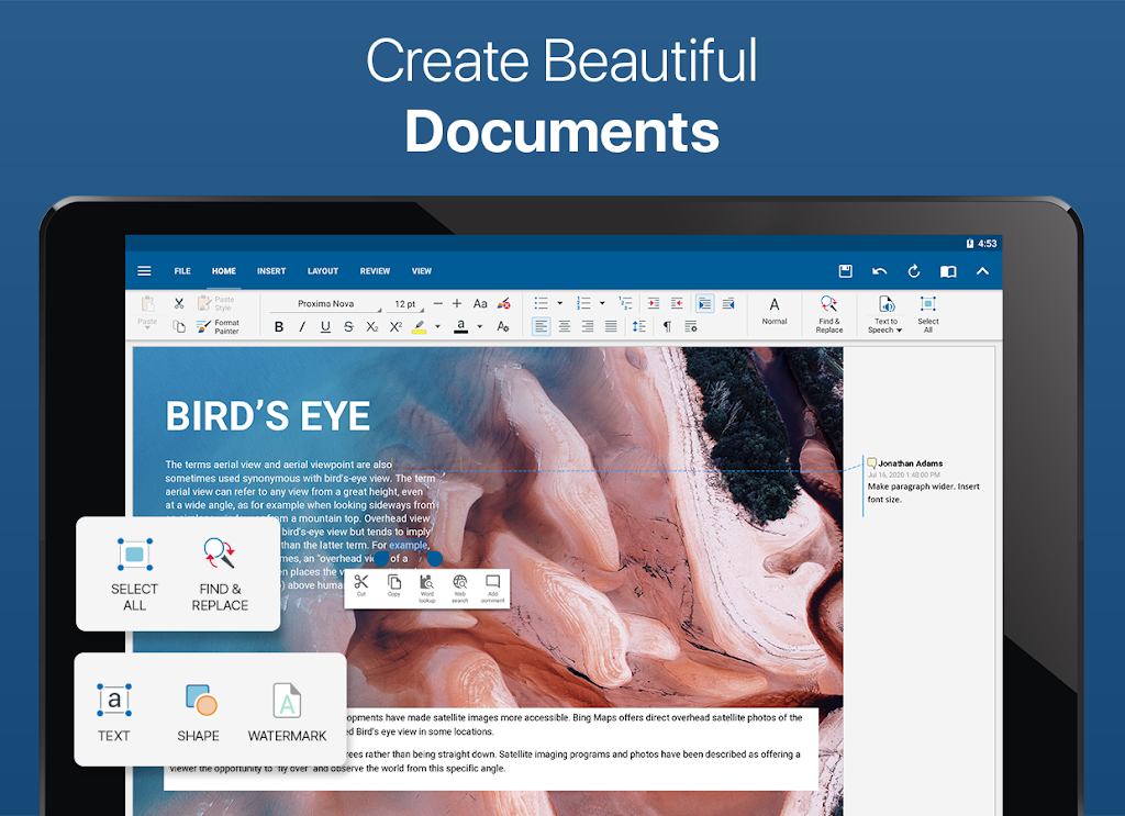 OfficeSuite - Word docs, Excel sheets, PDF & more  poster 7