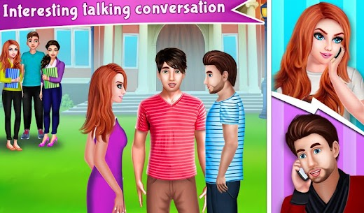 Nerdy Boy's First Love Crush game story 1.0.7 MOD Apk Download 1