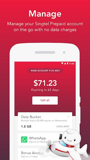 Singtel Prepaid hi!App android2mod screenshots 1