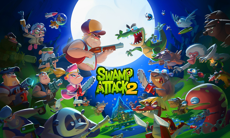 Swamp Attack 2 MOD poster 5