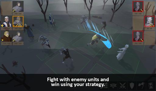Warriors of medieval walls Tactical turn-based RPG apkdebit screenshots 1