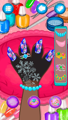 Hippo's Nail Salon: Manicure for girls  screenshots 23