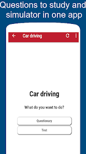 Practice driving test for Florida