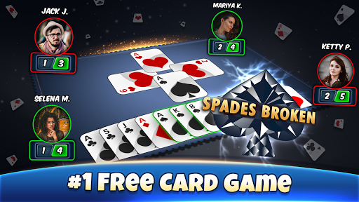 Spades - Card Games Free 9.4 screenshots 6