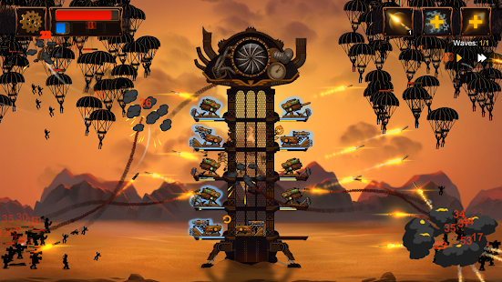 Steampunk Tower 2: The One Tower Defense Strategy Screenshot