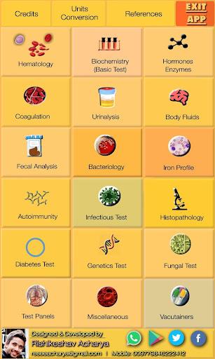 Lab Test Reference Range (Free & Offline)  Screenshots 2