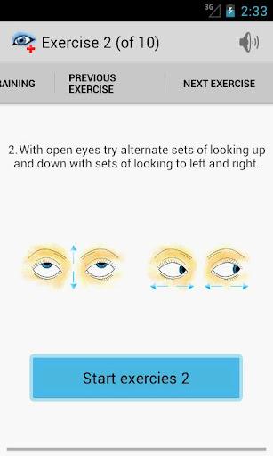 Eye Doctor Trainer - Exercises to Improve eyesight ss2