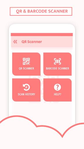 QR Code Scanner & Barcode reader plus  screenshots 1