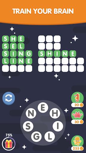 Word Search Sea: Unscramble words screenshots 5