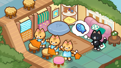 Idle Cat Tycoon : Furniture Craft Shop screenshots 2