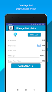 Mileage Calculator  Fuel For Windows 7/8/10 Pc And Mac   Download & Setup 1