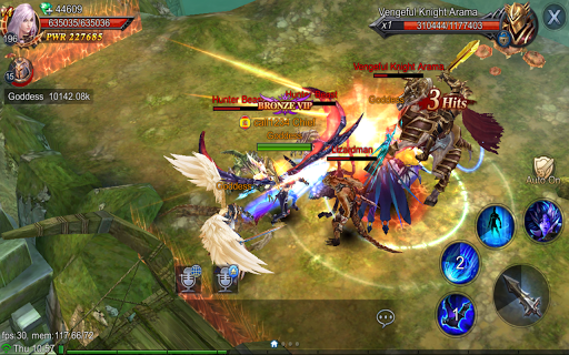 Goddess: Primal Chaos - SEA  Free 3D Action MMORPG android2mod screenshots 23