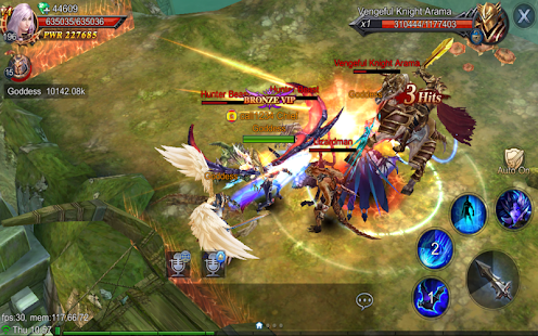 Goddess: Primal Chaos - SEA  Free 3D Action MMORPG screenshots 15