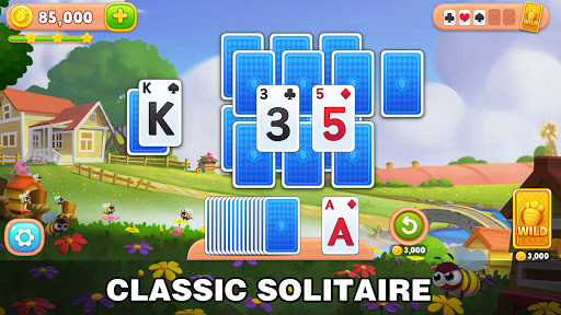Solitaire Farm: Classic Tripeaks Card Games  screenshots 1
