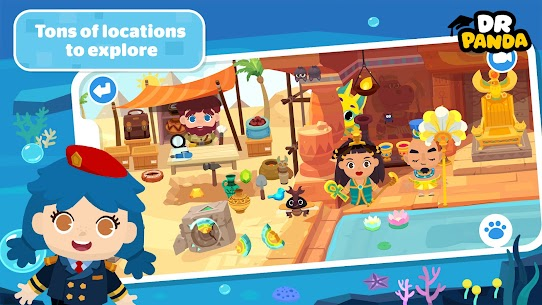 Dr. Panda Town – create  Customize Your World! Apk Download 2021 5