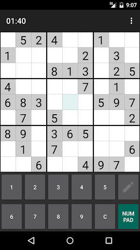 Open Sudoku 3.6.0 screenshots 3