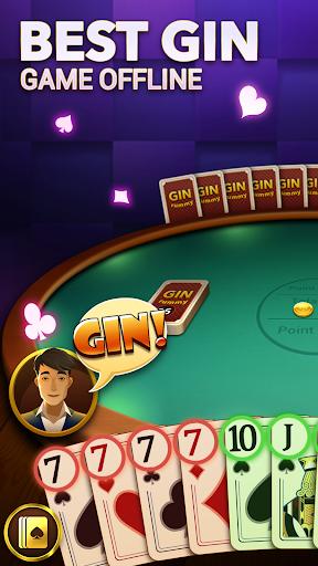 Gin Rummy - Free Gin Rummy Card Game Plus Offline apkpoly screenshots 4